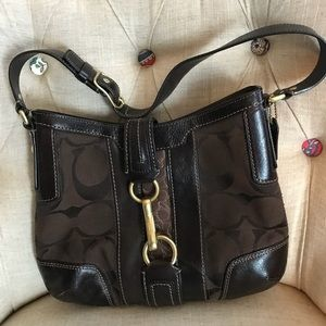 Coach Shoulder Bag- Authentic!